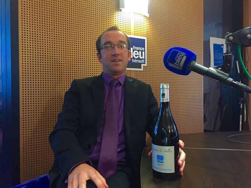 """""""Je voulais vous présenter ce Domaine le Sollier à Monoblet et sa cuvée Les 4 chemins. L'âme de ce vin est le Cinsault, une belle histoire - Jérémy Cadière  - Radio France"""