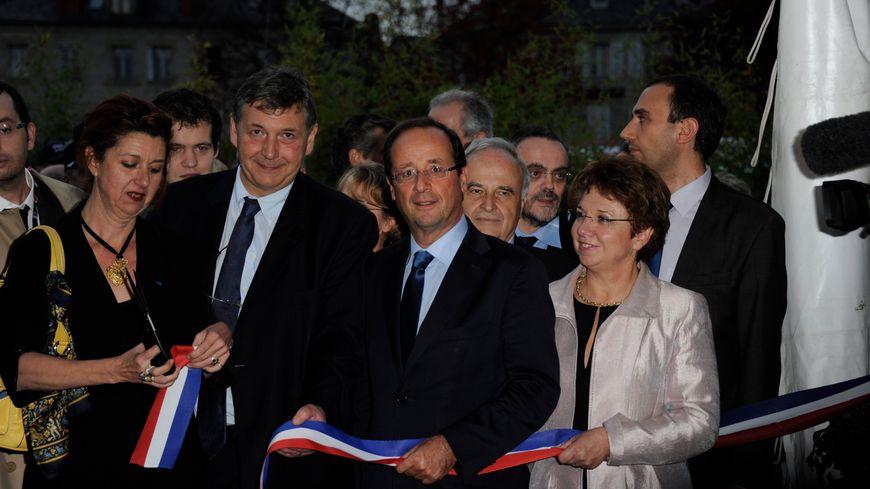 Patricia Bordas, à droite, aura été une figure des socialistes durant 23 ans à Brive