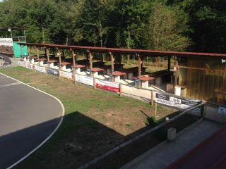 Circuit Limousin racing-car - Radio France