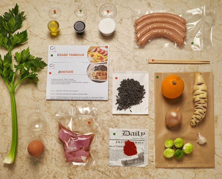 Gwenacook, kit prêt à cuisiner - Aucun(e)