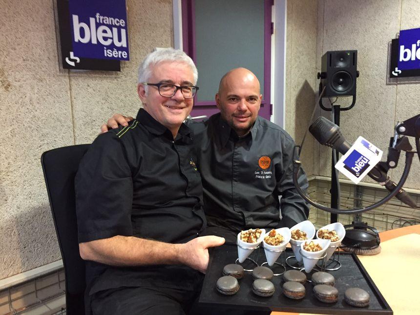 Yves Bello et Francis Veran délices de noix - Radio France
