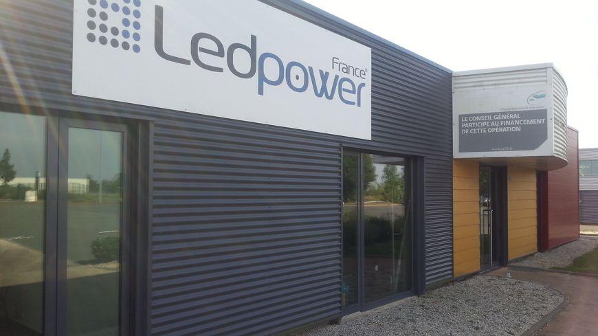L'usine Ledpower à Saint-Calais