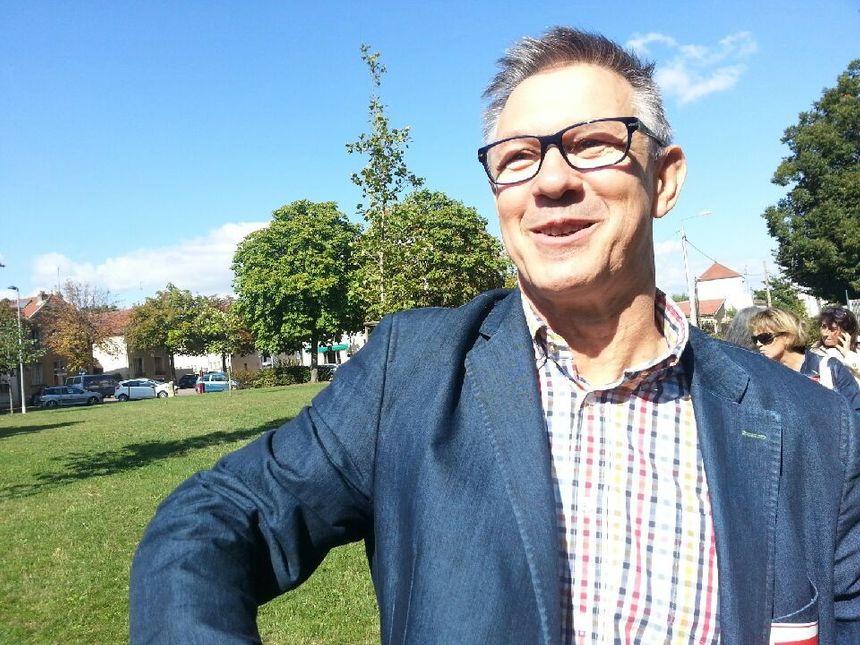 Marc Aubert, proviseur du lycée Parriat, 950 élèves, à Montceau-les-Mines - Radio France