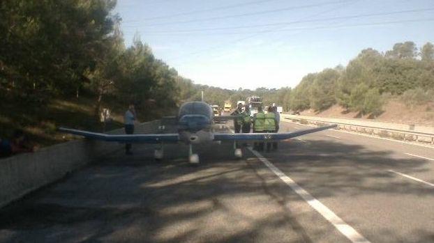 Un avion de tourisme s'est posé sur l'A8 entre Brignoles et Le Luc
