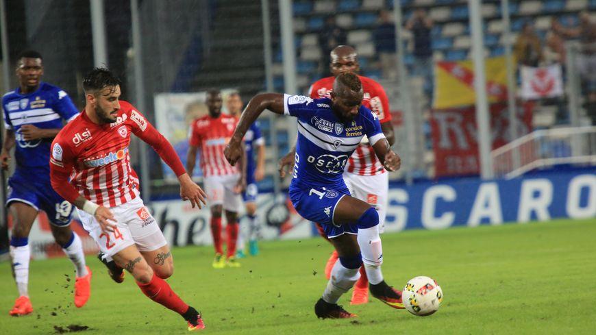 L'Urugayen Erick Cabaco a tenu le choc pour sa première face à Bastia