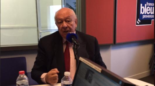 Le sénateur-maire de Marseille dans les studios de France Bleu Provence ce mardi à Marseille