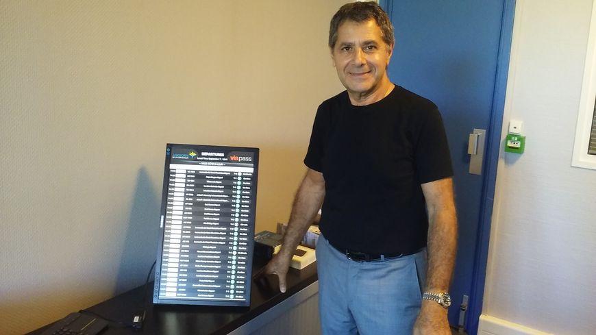 Jean-Pierre Kaisserlian, président de Viapass et fournisseur d'accès à internet à Cannes