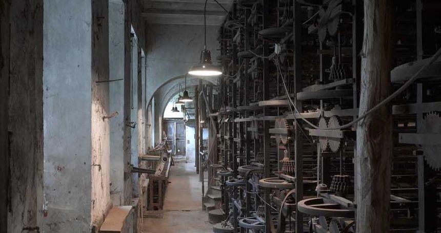La Galicière à Chatte - Salle de moulinage 2 - Aucun(e)