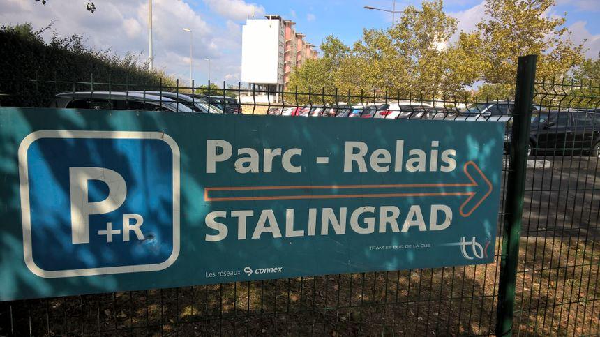 Le Parc-Relais de Stalingrad peut accueillir 200 places. - Radio France