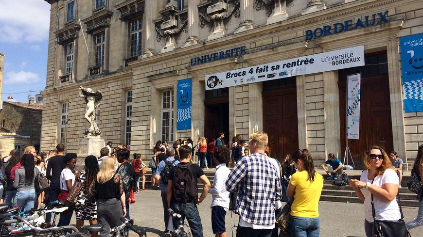 Le bâtiment de la Victoire de l'université de Bordeaux