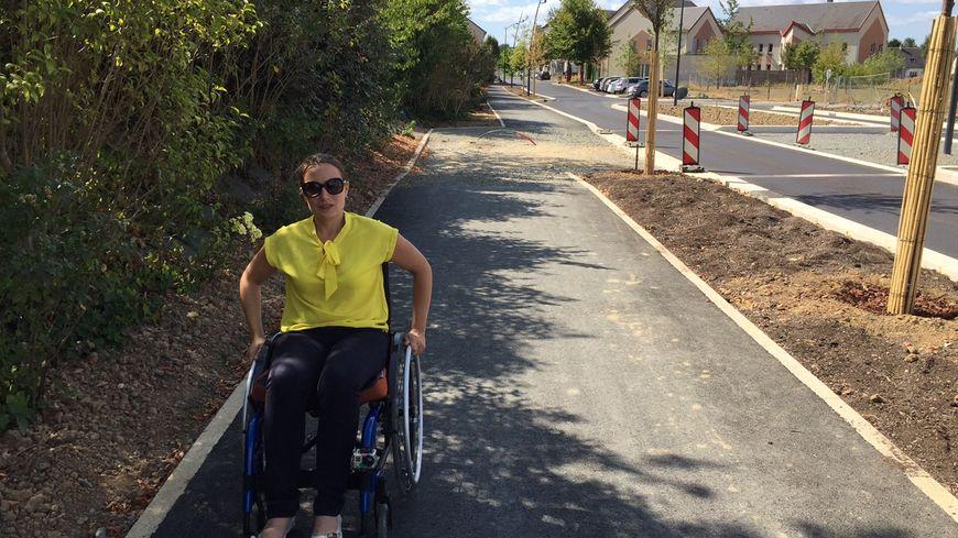 Cécile Brégeard se dit fatiguée par ses 17 jours en fauteuil roulant