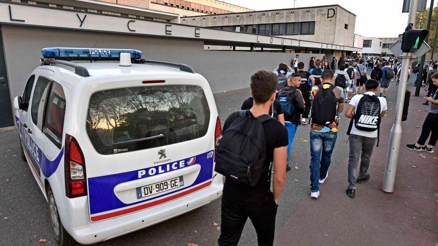 L'agression s'est produite dans l'enceinte du lycée Louis Armand de Gleize.