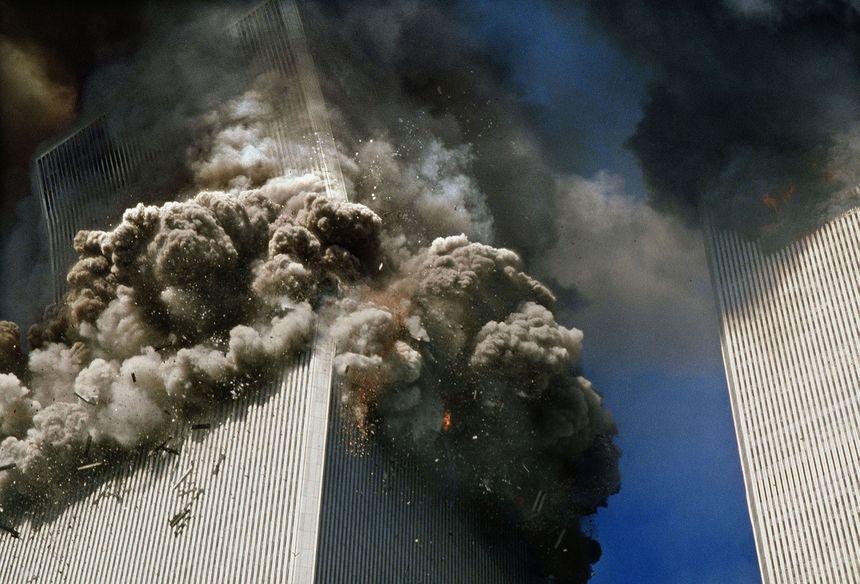 L'effonndrement des tours jumelles, le 11 septembre 2001 - Maxppp