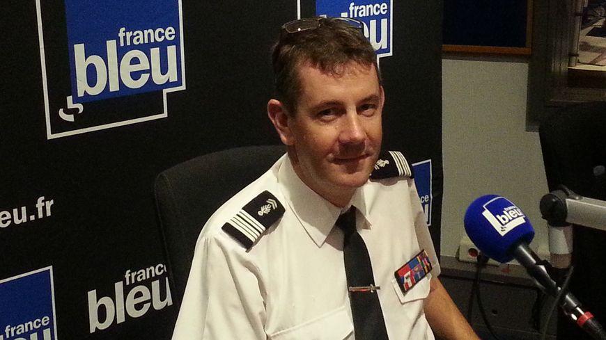 Le colonel Bertrand François dirige la nouvelle école de gendarmerie de Dijon