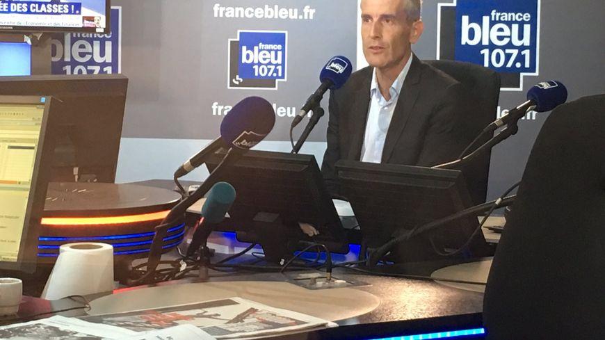 Alain Krakovitch, directeur de SNCF Transilien, invité de France Bleu matin