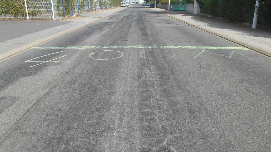 Beaucoup de courses automobiles interdites ont lieu dans la zone industrielle de Saint-Herblain.