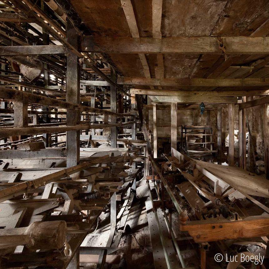 La Galicière à Chatte - salle de moulinage - Aucun(e)