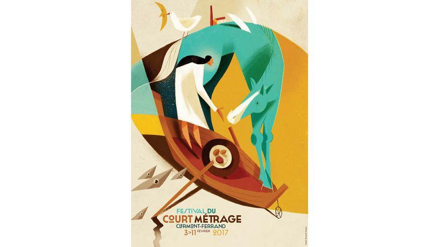 L'affiche du Festival International du Court Métrage 2017 signée Riccardo Gasco