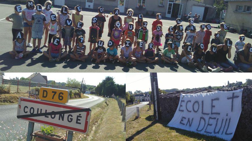 Le village de Coulongé se mobilise pour sauver sa classe
