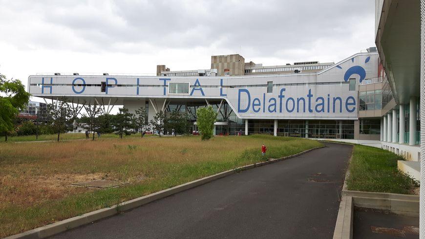 L'hôpital Delafontaine, à Saint-Denis (juillet 2016)