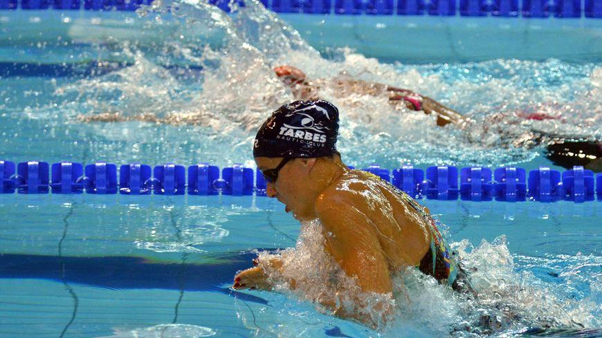 La championne de France du 200 mètres brasse Laura Paquit