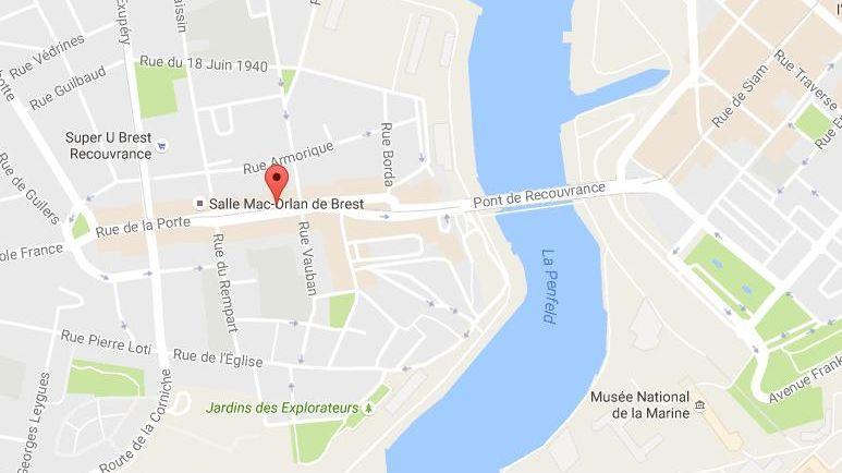 L'accident s'est produit rue de La Porte