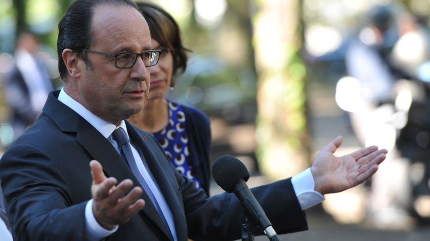 François Hollande à Tours