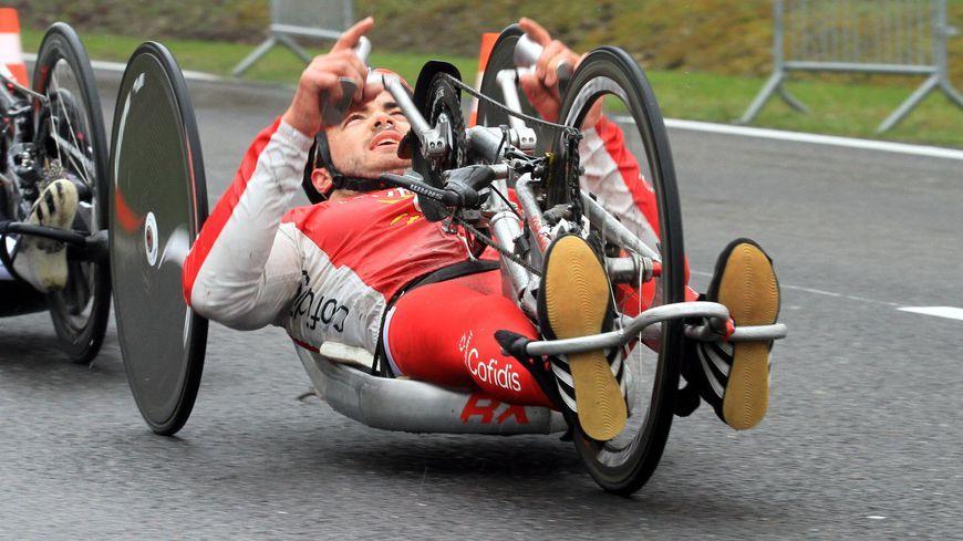 Mathieu Bosredon a terminé 7e du chrono