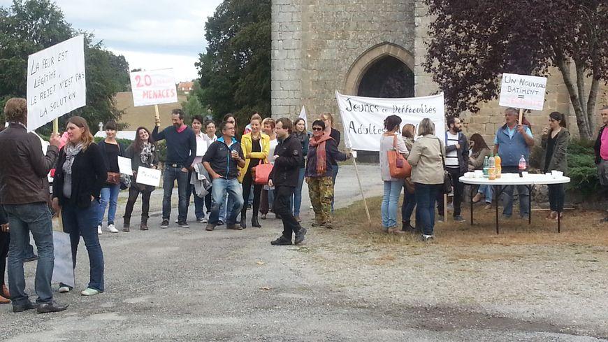 Le projet de CER à Liginiac a suscité opposition et approbation comme ici le 16 septembre dernier