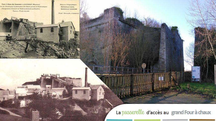 La passerelle a été démolie en 1963, lorsque le site a cessé de fonctionner