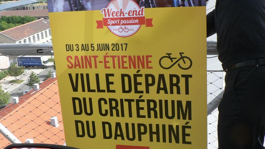 Saint-Étienne Grand départ du prochain critérium cycliste