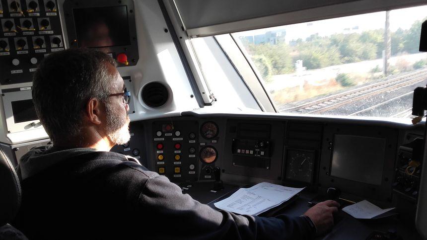 Les conducteurs également apprécient le confort de ces nouveaux trains - Radio France