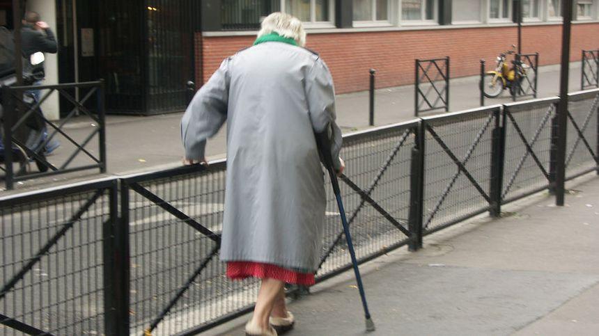 Certains retraités ont des fins de mois difficiles - Maxppp