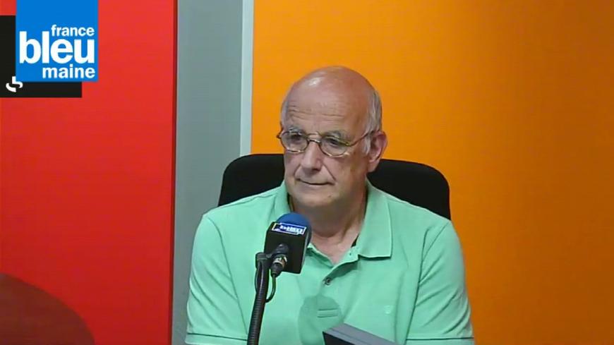 Dominique Langlet, président de la ligue contre la violence routière en Sarthe