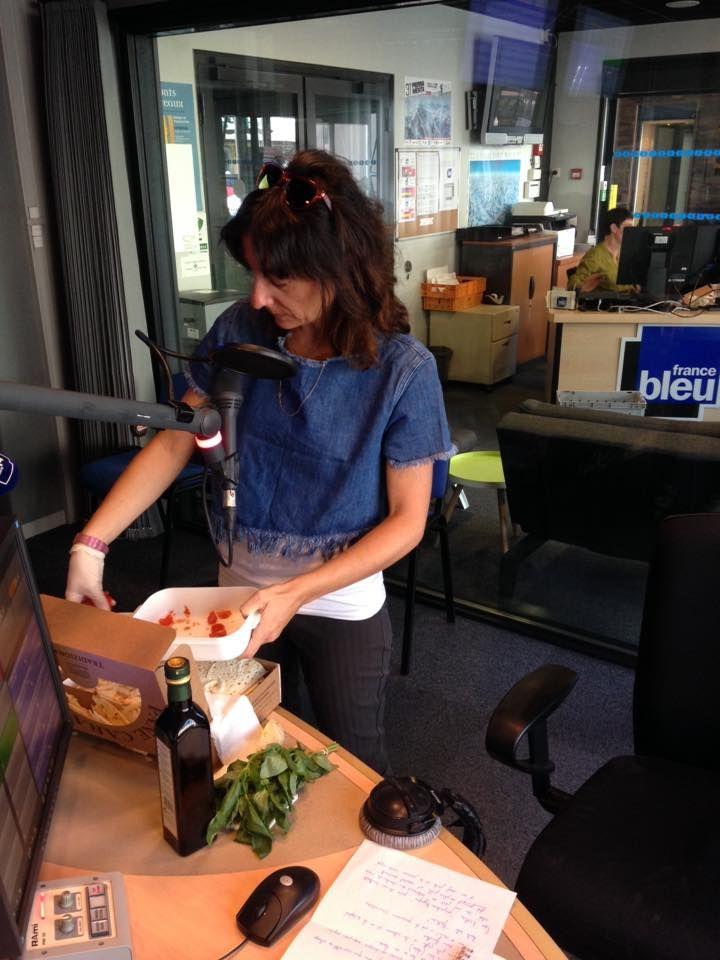 Ilde Pinna chef Foodtruck L'Estafette gourmande à Chambéry - Radio France