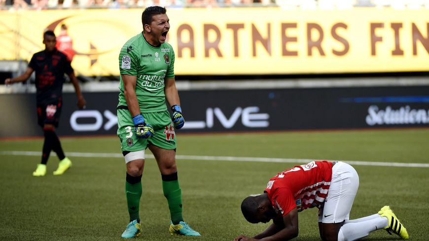 Anthony Koura s'est procuré la meilleure occasion du match, deux minutes avant le but du Niçois Plea