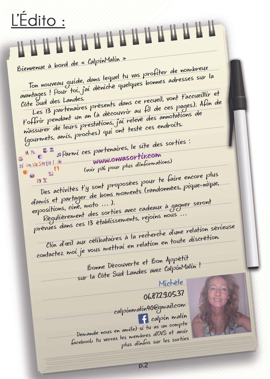 Edito du Calpin Malin - Aucun(e)