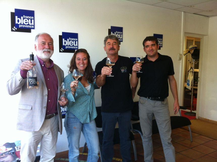 Le quatuor gagnant !  - Radio France