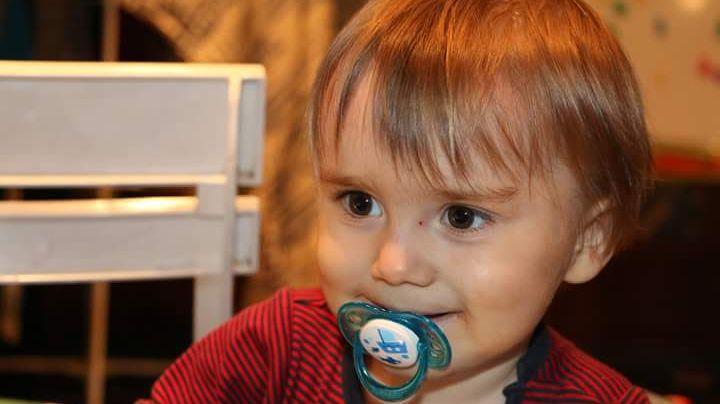 Le petit Florian, atteint d'une maladie orpheline, était au centre des Vendanges du Coeur de la Maison Chapoutier.