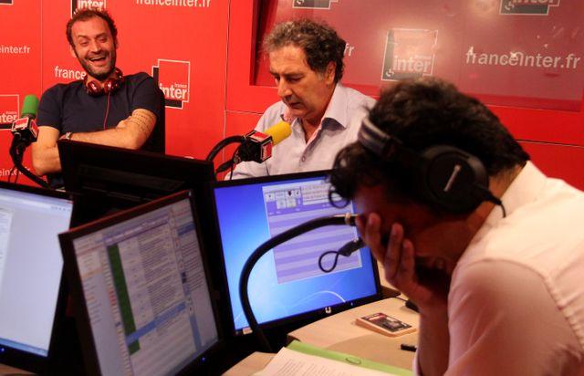 Augustin Trapenard, François Morel et Patrick Cohen