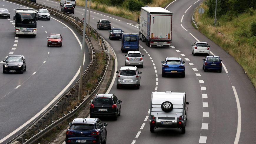 Les autoroutes françaises sont parmis les plus sûres d'Europe. Ici la circulation sur l'A31