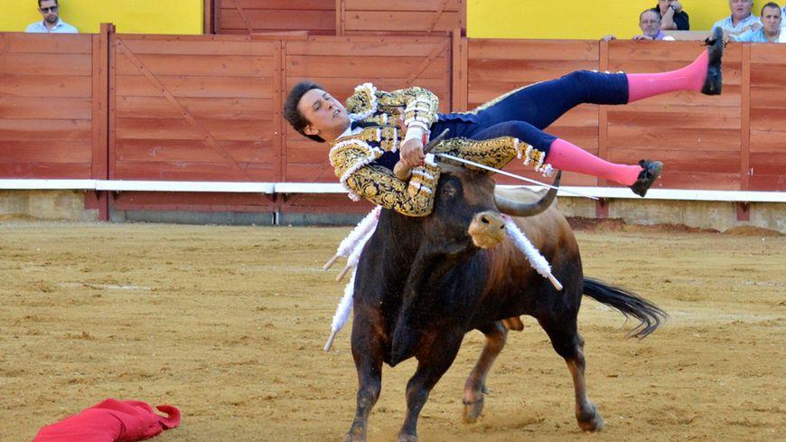 Le torero péruvien Andrès Roca Rey a été sérieusement blessé début septembre