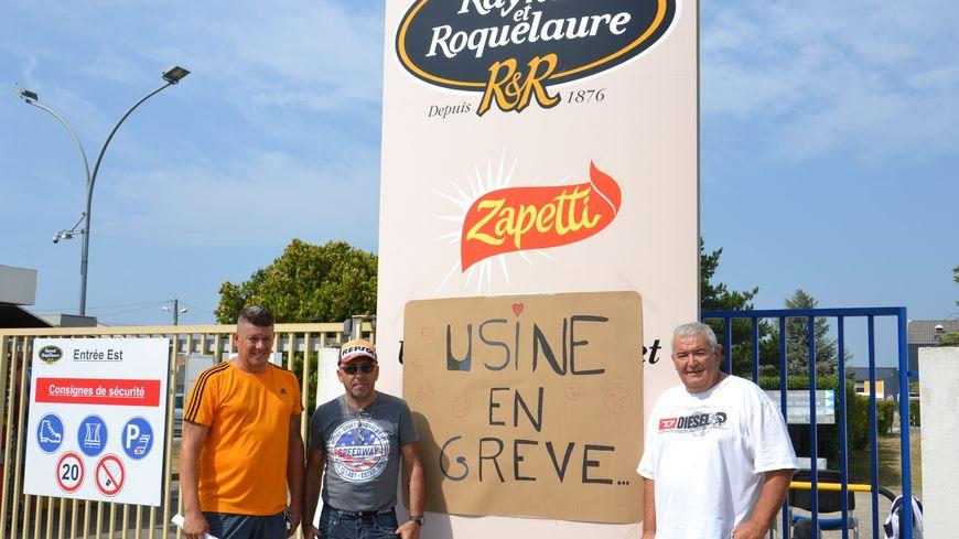 Grève à l'usine Raynal et Roquelaure