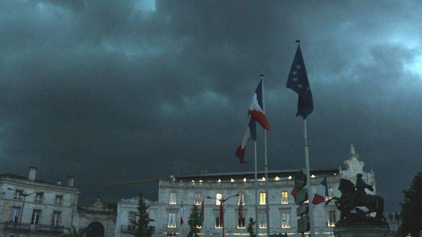 Les orages ont été violents également sur Cognac