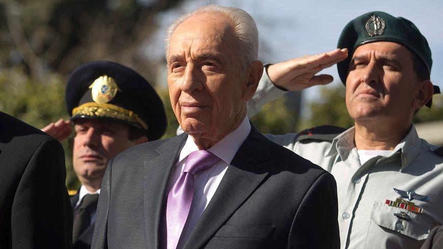 L'ancien président israélien et prix Nobel de la paix  Shimon Peres