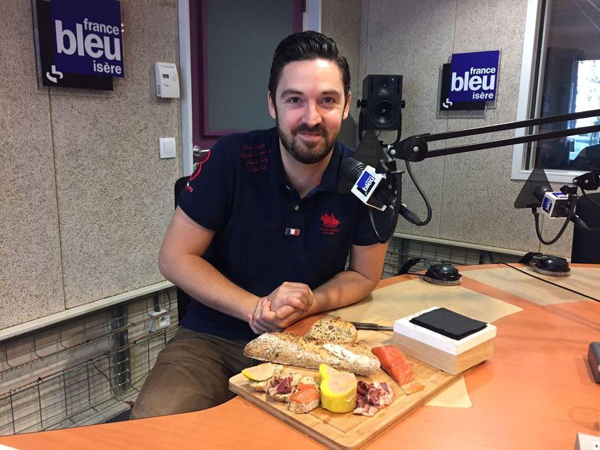 Jérémie Muller et ses produits fumés maison - Radio France
