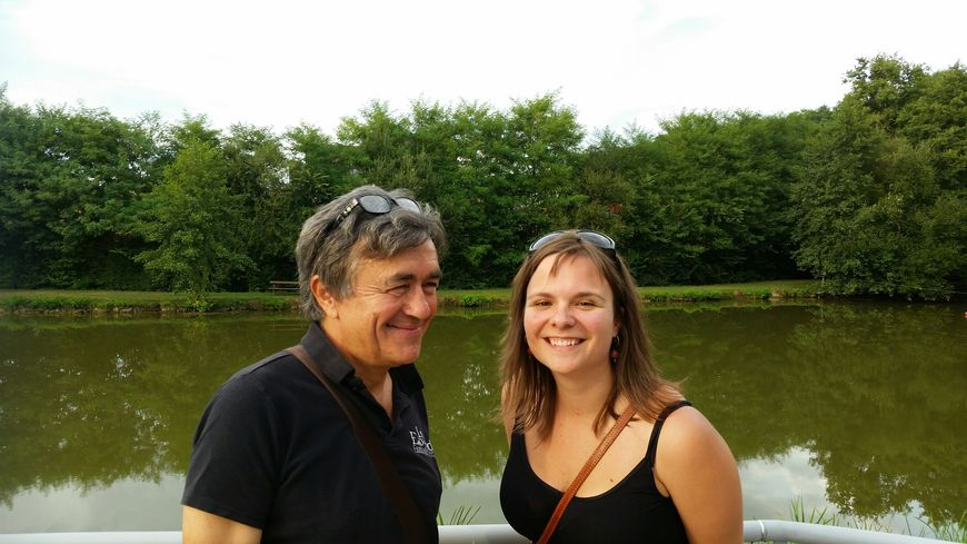 Jean Loury le Directeur artistique du Festival et Solène Louvet la coordinatrice