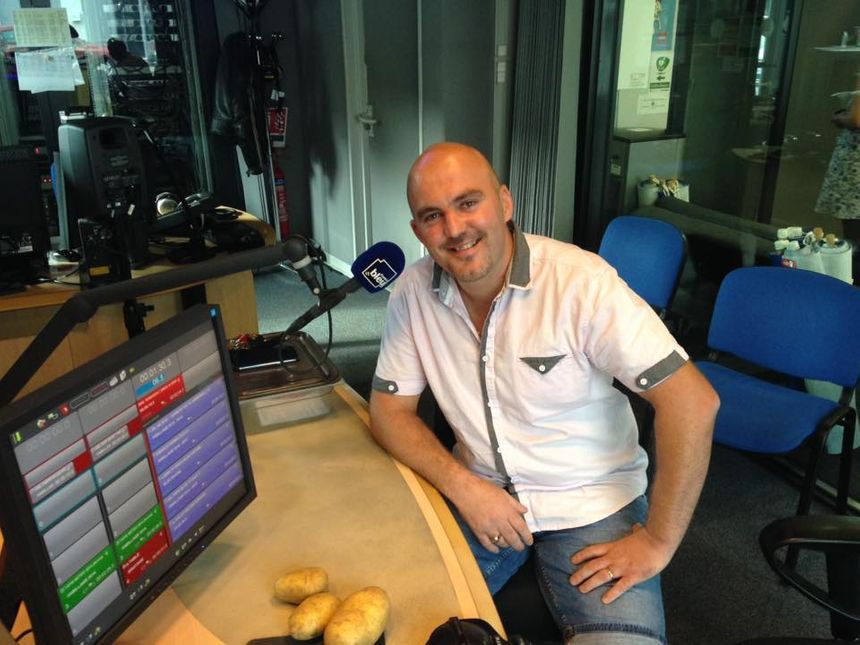 Xavier Busillet du 1680 à La Motte Servolex  - Radio France