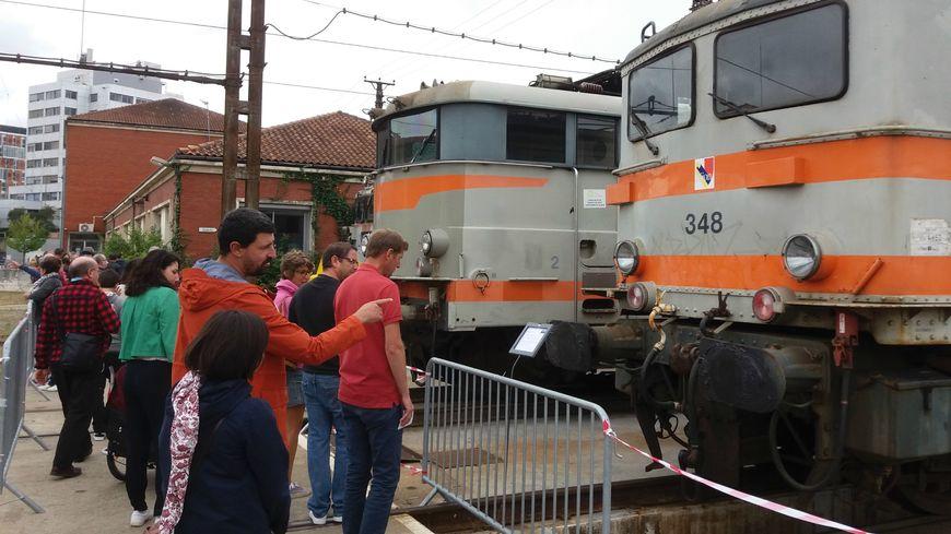 3.700 visiteurs sont venus admirer les locomotives, la SNCF en attendait moitié moins !