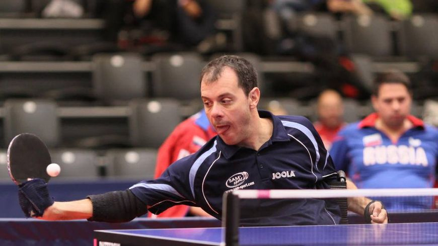 Jean-François Ducay, obtient la médaille d'or aux jeux paralympiques de Rio.